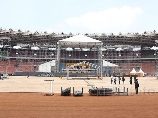 Begini Persiapan Konser Bon Jovi di Jakarta