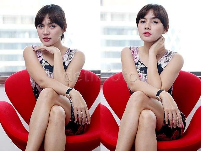 Si Seksi dan Menggoda Vicky Shu