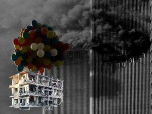 Kecam Krisis Suriah, Seniman Tammam Azzam Bikin Grafiti