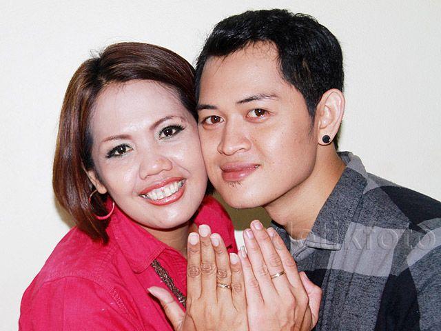 Ely dan Ferry berencana akan melangsungkan pernikahan pada November mendatang. Pool/Gus Mun/detikFoto.