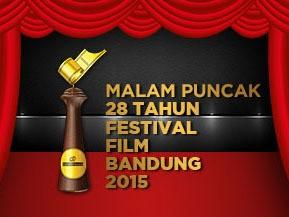 Daftar Lengkap Pemenang Festival Film Bandung 2015