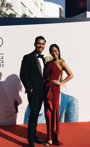 Foto: Cantiknya Tara Basro dengan Gaun Jeffry Tan di Venice Film Festival