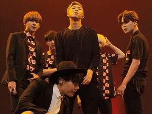 Annyeong Haseo! Ini Foto-foto Jumpa Pers BTS di Jakarta