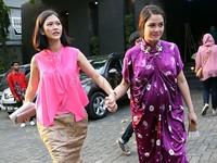 Reva saat ditemui di acara pernikahan Ayudia Bing Slamet di De La Rossa, Kemang, Jakarta Selatan akhir pekan lalu. Pool/Palevi S/detikFoto.