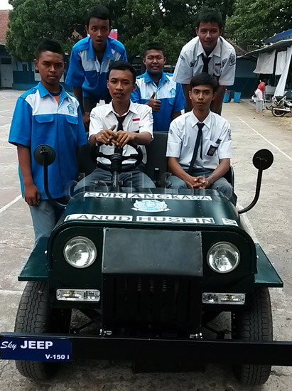 Mobil Jeep dari Yamaha V-Ixion
