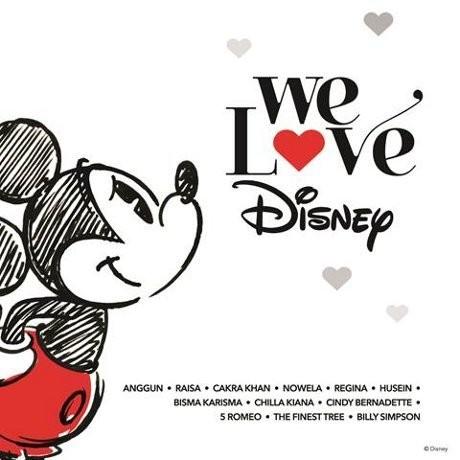 We Love Disney Indonesia, Bukti Cinta Musisi Indonesia kepada Disney