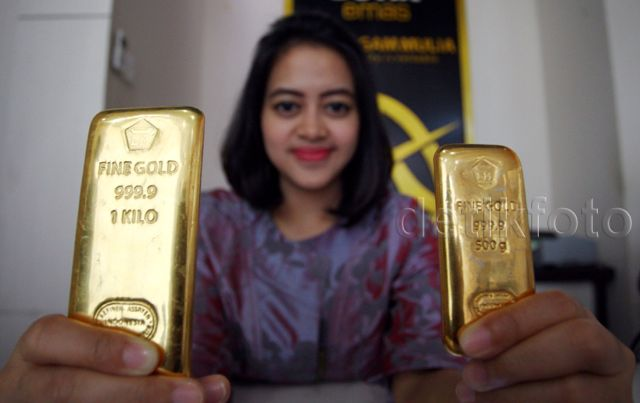 Penampakan Emas 1 Kg Antam Rp 500 Juta Lebih