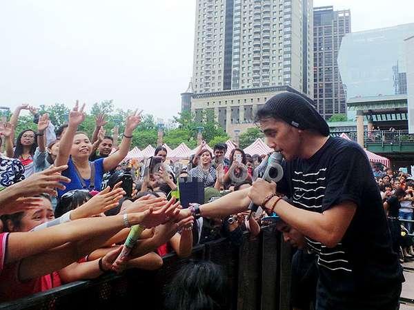 Aksi Lyla Mengguncang Taiwan