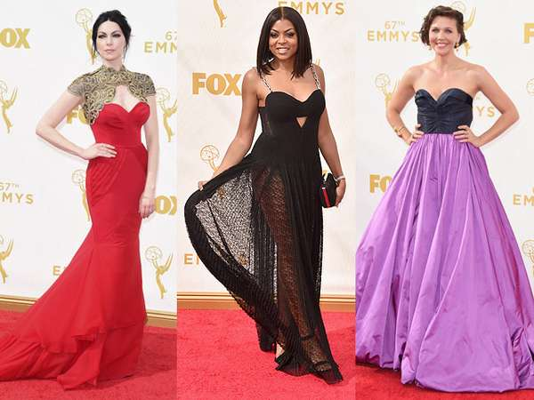 Mengintip Suasana Red Carpet Emmy Awards 2015 (2)