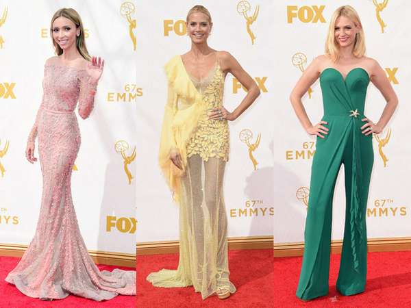 Mengintip Suasana Red Carpet Emmy Awards 2015 (1)