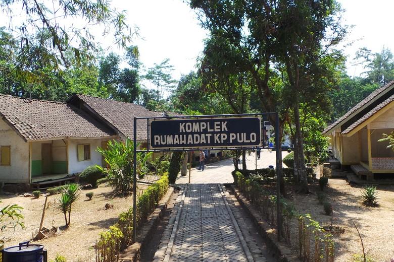 Kampung Pulo di Garut (Kurnia/detikTravel)