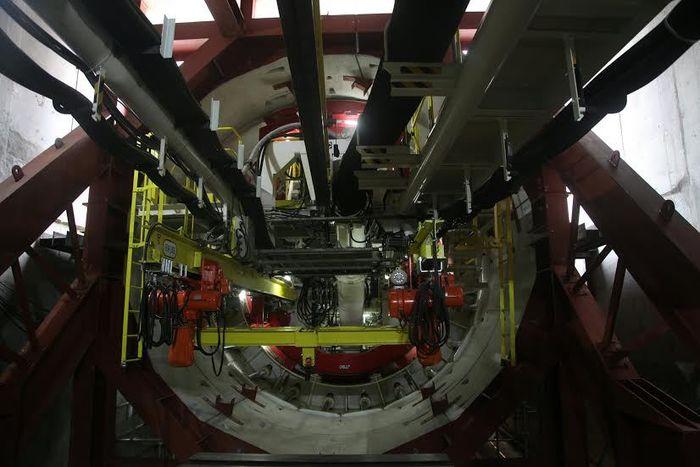 foto: mesin bor 'Antareja'