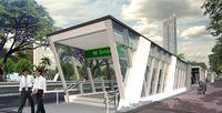 Ini Pintu Masuk Stasiun MRT Jakarta yang Mirip di Singapura