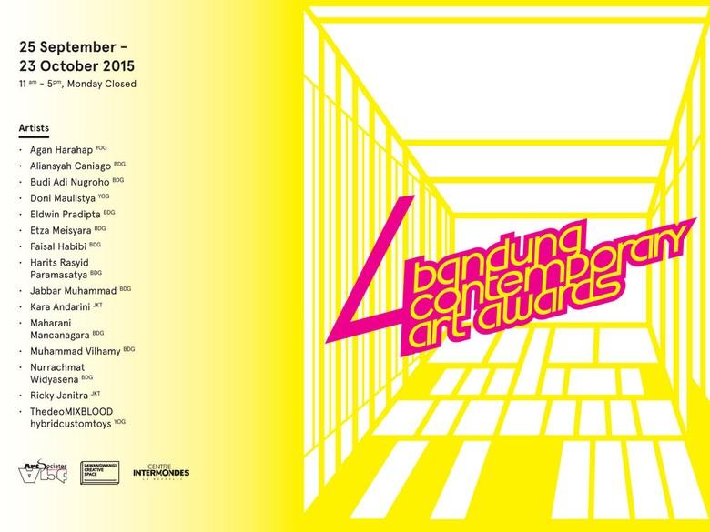 Bandung Contemporary Art Award #4 Diumumkan 25 September