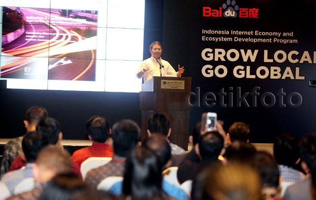 Melalui program ini, Baidu menyediakan investasi marketing dan teknologi melalui berbagai platform senilai USD1 juta, dan berencana membangun infrastruktur kerja untuk starup di tiga kota, yaitu Jakarta, Bandung dan Yogyakarta.
