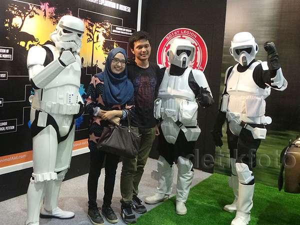 Suasana Jakarta Comic Con 2015 Hari Pertama