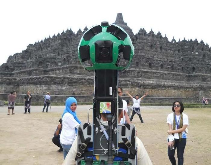 [Terbaik] Gambar Mewarnai Candi Borobudur