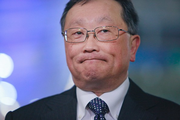 CEO BlackBerry John Chen (gettyimages)