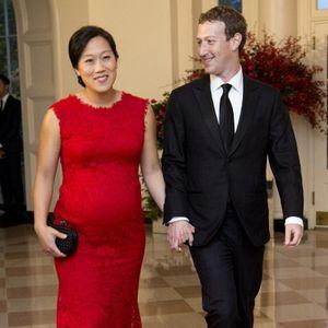 Istri Zuckerberg Tampil Perdana Pamerkan Kehamilan