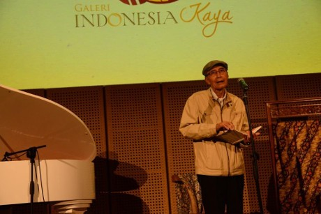 Musikalisasi Puisi ala Dewi Lestari dan Sapardi Djoko Damono
