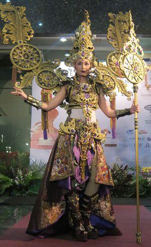 Kostum Nasional 22 Kg Ini Akan Dipakai Puteri Indonesia di Miss International