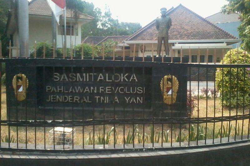 Museum Sasmitaloka Jenderal Ahmad Yani terletak di Jalan Lembang Terusan No.D 58, Menteng Jakarta Pusat. Museum ini di bawah pengelolaan Dinas Sejarah TNI AD yang berpusat di Bandung (Wahyu/detikTravel)