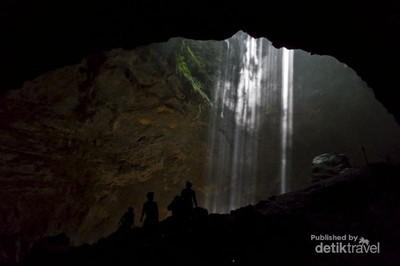 Inilah Cahaya Surga di Gunungkidul