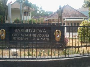 Ini Dia Arti Nama Sasmitaloka di Museum Ahmad Yani