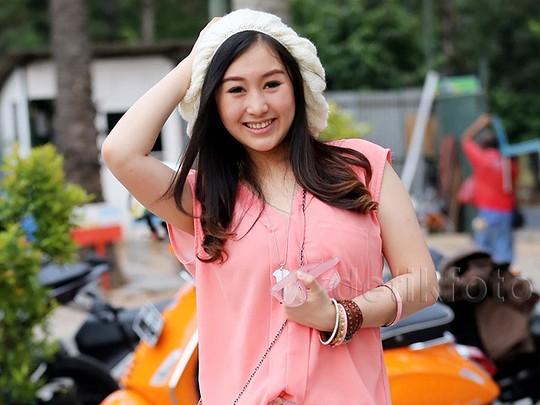 Gaya Cute Kathy Indera Bak Cewek Korea