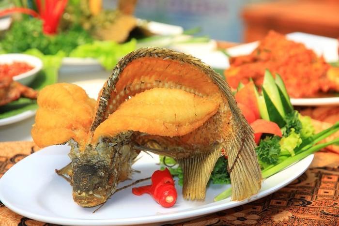 Siang Ini Enaknya Makan Ikan Gurame Terbang Yang Renyah Gurih