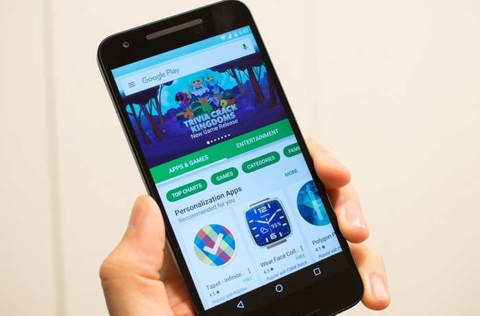 Gambar Play Store anyar (androidcentral)