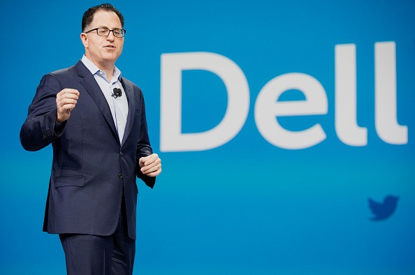 Michael Dell di Dell World 2015 (gettyimages)