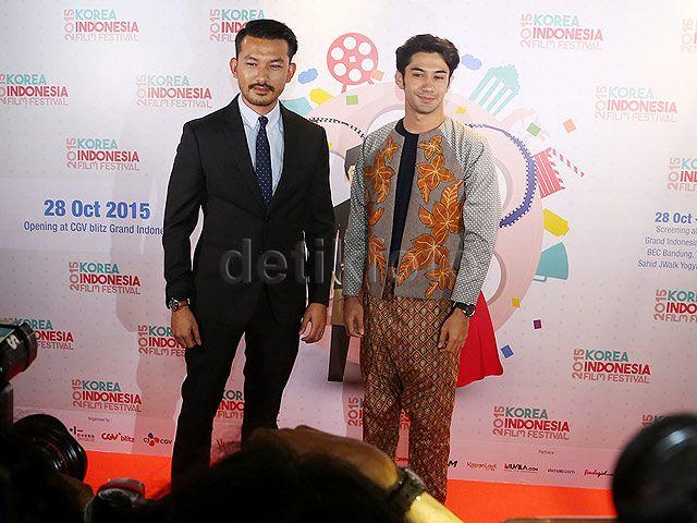 Rio dan Reza hadir memeriahkan sekaligus membuka festival film tahunan terbesar ini.