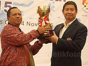 Hashim Djojohadikusumo Buka Kejurnas Catur 2015