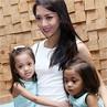 Ririn Dwi Ariyanti dan 2 Putri Kesayangannya