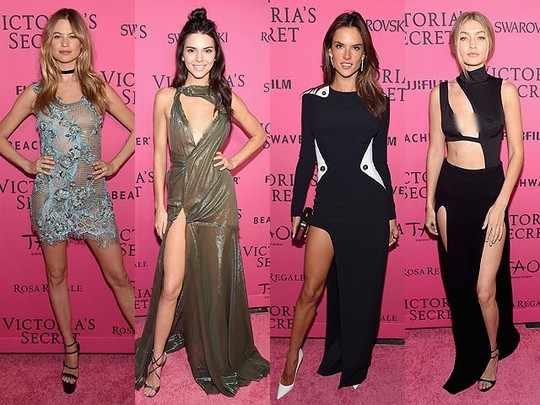 Begini Penampilan Para Model di After Party Show Victoria's Secret