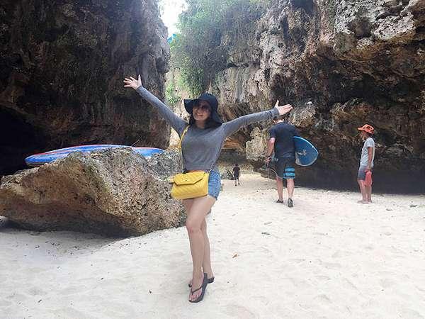 Boys, Intip Chant Felicia Liburan di Bali Yuk!