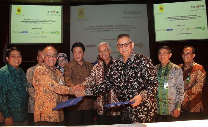 Penandatangan Kerjasama Pembiayaan PLTU Riau