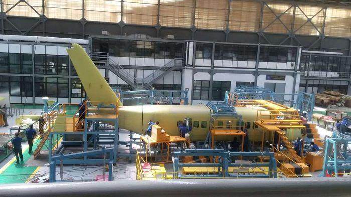 N219 saat proses pembuatan