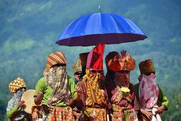 Sekura, topeng unik khas Lampung Barat (Yopie Pangkey/d'Traveler)