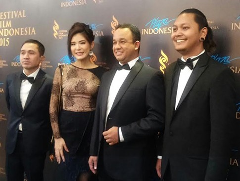 Anies Baswedan Beri Sambutan Hangat di Malam Pembacaan Nominasi FFI 2015
