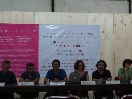 Festival Seni Jakarta Biennale 2015 Dibuka Malam Ini