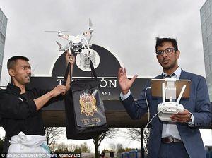 Wah, Restoran Ini Punya Layanan Antar Via Drone Pertama di Dunia!