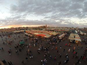 Djemaa El Fna, Malioboro Ala Maroko