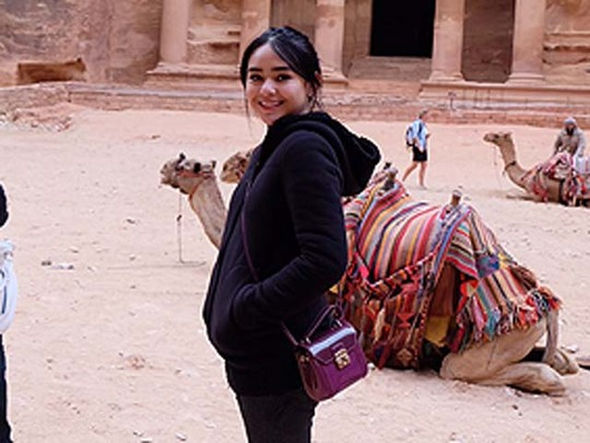 Mengintip Amanda Manopo Jalan-jalan di Israel dan Yordania
