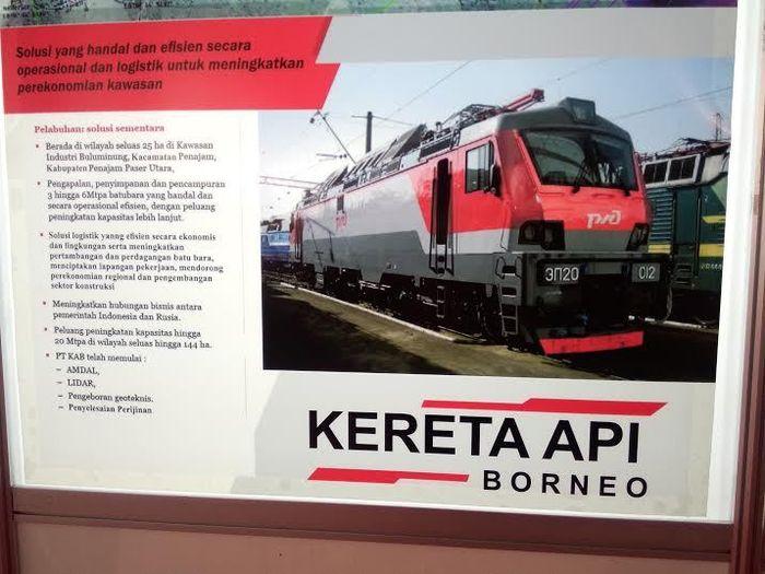 Kereta Api Borneo