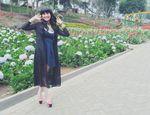 Asyiknya Jennifer Tungka Jalan-jalan di Malang