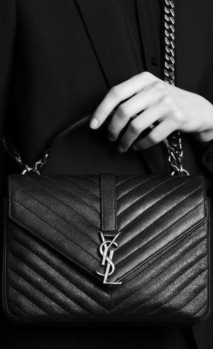 Tas Kulit Klasik Saint Laurent, Favorit Para Fashionista di 2016