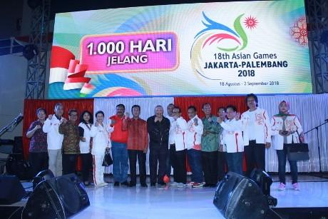 Indonesia Hitung Mundur 1.000 Hari Menuju Asian Games 2018