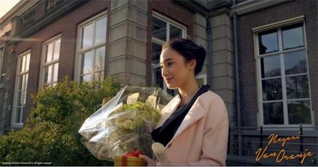 Tatjana Saphira Dapat Bunga dari Siapa?